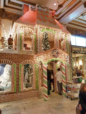 2-Story Gingerbread House front