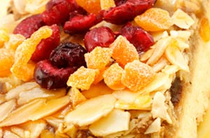 Granola Bars with Cranberries, Apricots and Almonds