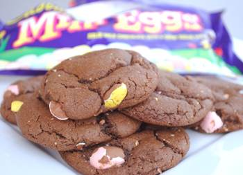 Mini Egg Chocolate Cookies