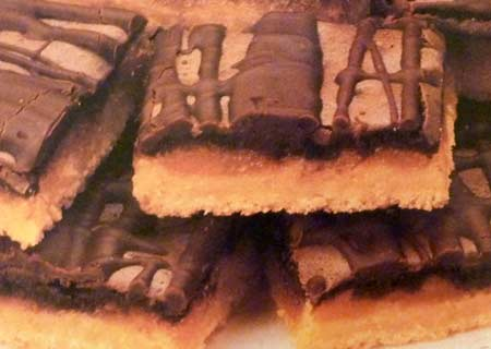 Chocolate Viennese Bars