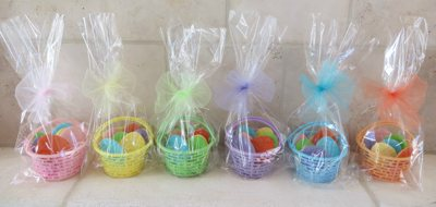 Easter Egg Cookie Baskets from Bake it up a Notch