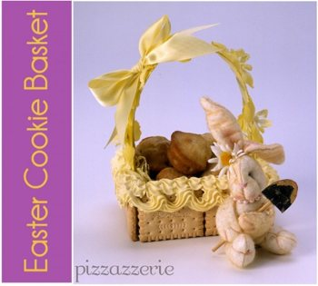 Easter Tea Cookie Baskets from Pizzazzerie