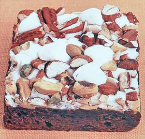 Easy Rocky Road Brownies