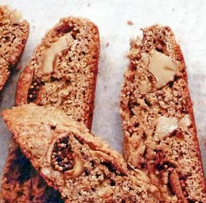 Fig Walnut Biscotti