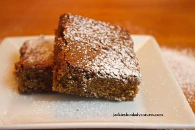 Gingerbread Cake-Like Brownies from Jackies Food Adventures
