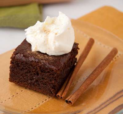 Dairy Free Gingerbread Brownies from Healthful Pursuit