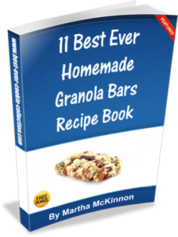 Homemade Granola Bars Recipe Book