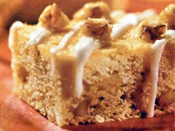 Honey Walnut Bars