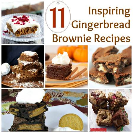 11 Inspiring Gingerbread Brownie Recipes