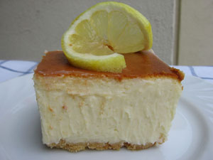 Limoncello Cheesecake Bars