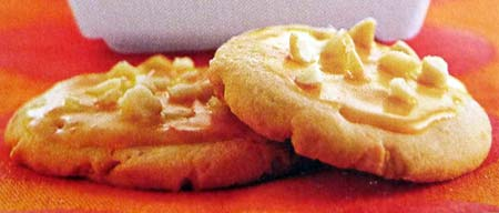 Orange Macadamia Cookies