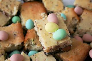 Oreo Cadbury Mini Egg Easter Squares