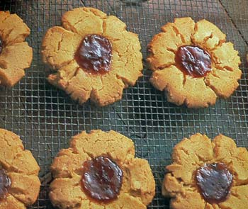 Peanut Butter and Jellies Cookies