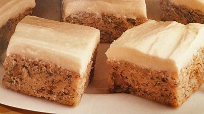 Banana Nut Bars