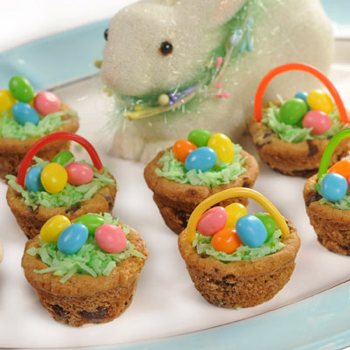 Chocolate Chip Cookie Easter Baskets from Very Best Baking