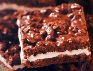 Double Chocolate Marshmallow Bars