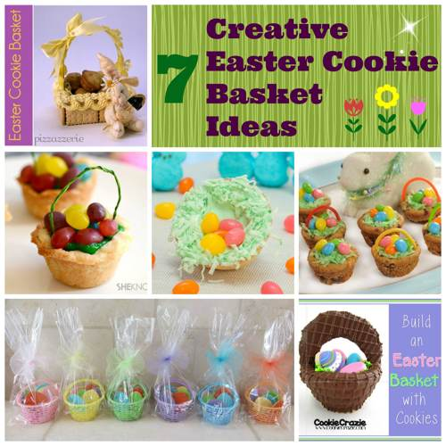7 Awesome Ideas for Easter Cookie Baskets
