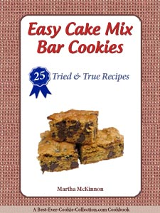 Easy Cake Mix Bar Cookies
