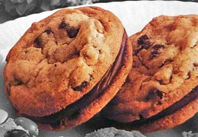 Chocolate Chip Sandwich Cookies