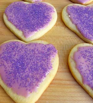 Heart-Shaped Valentine Cookies