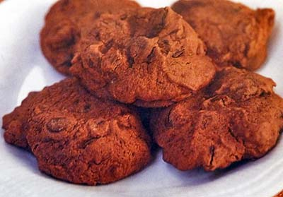 Quickie Chocolate Chocolate Chip Cookies