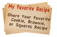 Share Your Favorite Cookie Recipe
