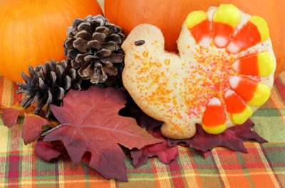Thanksgiving Turkey Sugar Cookies from The Pure Pantry