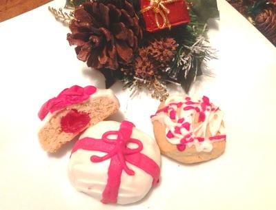 Cherry Surprise Gift Cookies
