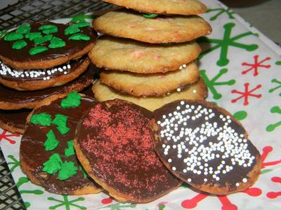 Chocomint Holiday Cookies