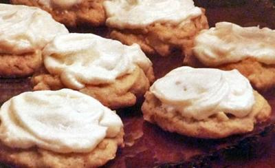 Frosted Aloha Cookies
