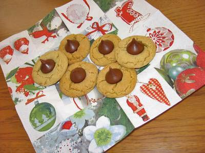 Peanut Butter Blossoms Cookie Platter